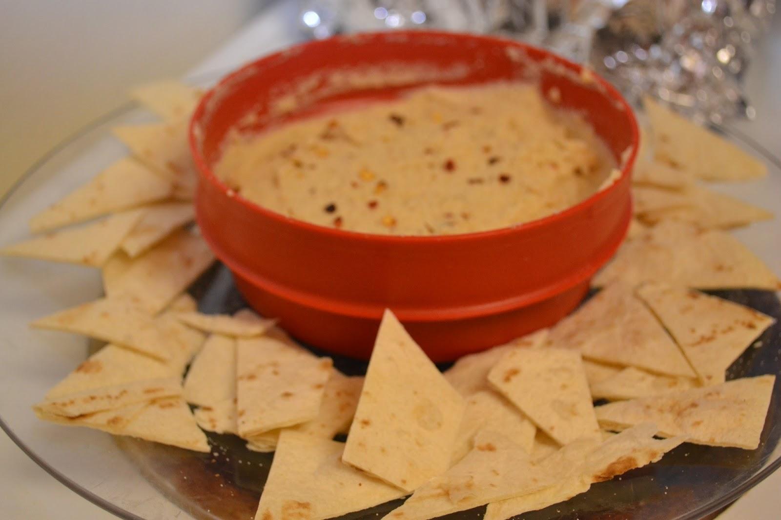Gourmet, My Way: Roasted Cauliflower Yogurt Dip and Homemade Tortilla ...