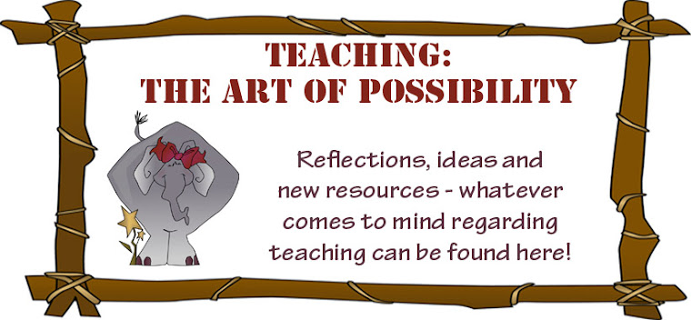 Mrs. Lyon&#39;s Blog - Teaching: The Art of Possibility