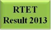 RTET Result 2013