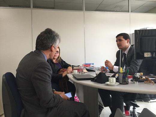 """Secretária de Desenvolvimento Social e Cidadania Rita Barros participa de importante reunião sobre"""" Minha Casa Minha Vida"""", em Recife"""