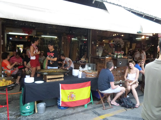 European bar in Chatuchak Weekend Market