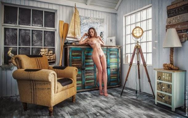 Maxim Guselnikov fotografia mulheres sensuais modelo russa Olga Kobzar