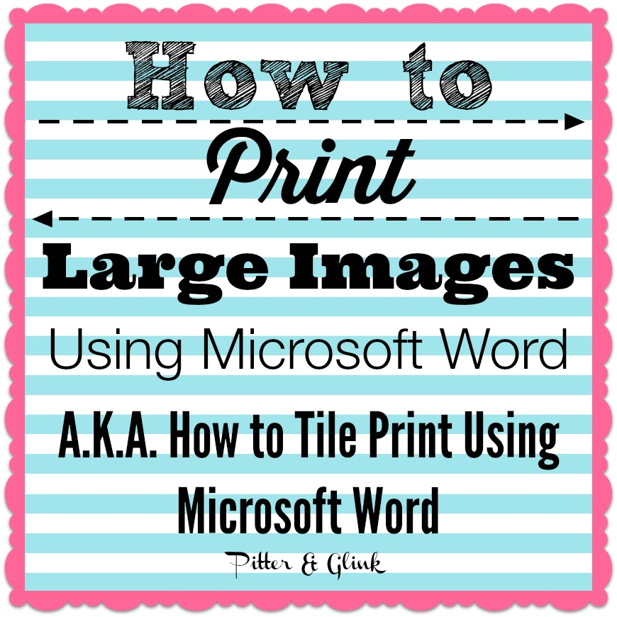 how to draw big letters on microsoft word