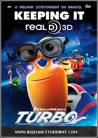 Capa Baixar Filme Turbo Dublado (2013) AVI + RMVB   Torrent Baixaki Download