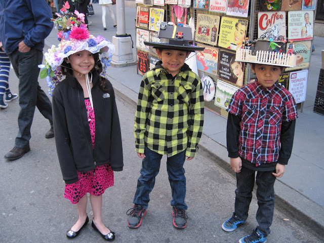 Concept hats are all the rage at the Easter Parade in New York City