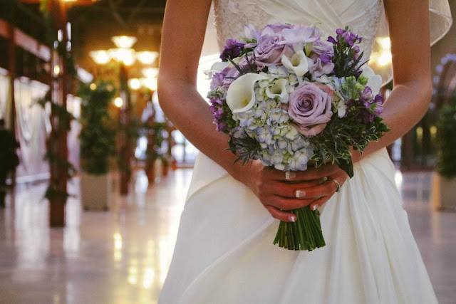 Bride Hydrangea Rose Bouquet