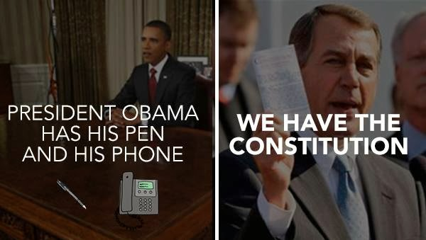 Boehner responds