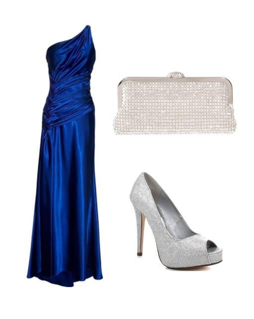 Que sapato usar com vestido verde azulado