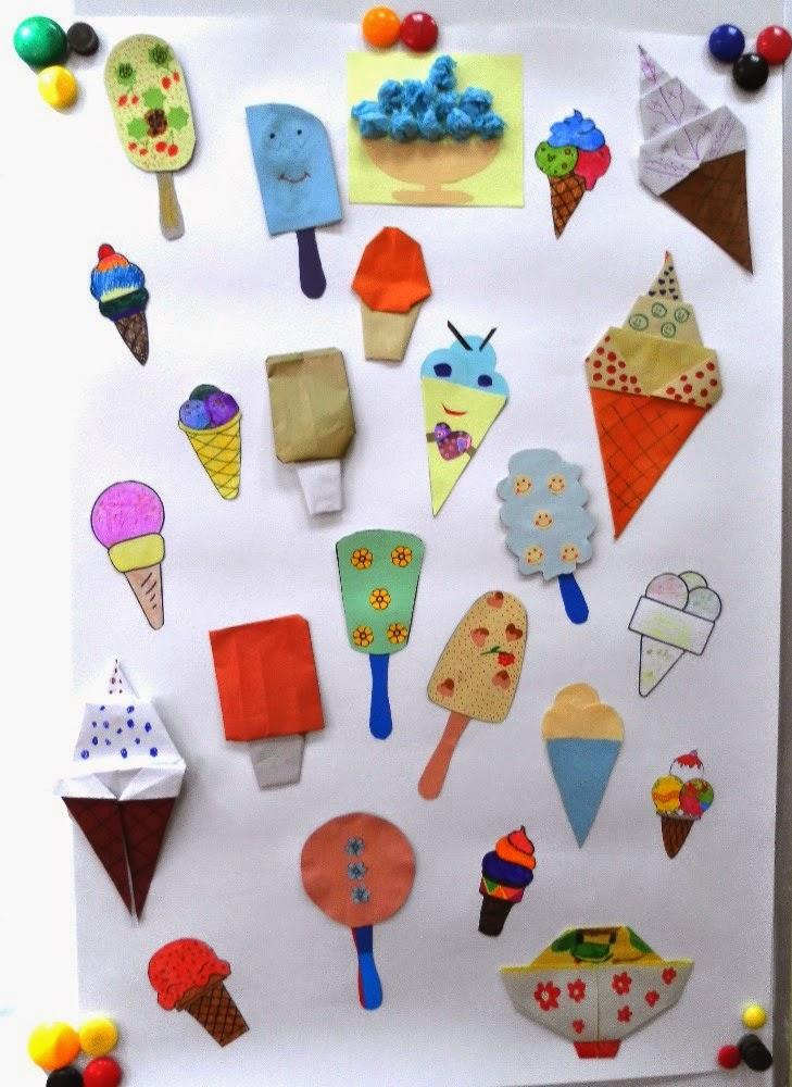 Мороженое на палочке поделка 369