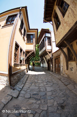 Old Plovdiv houses