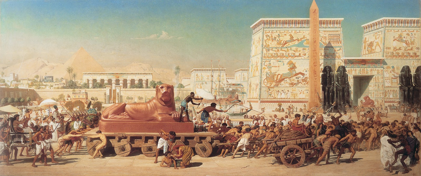 Hans recommends Israelites bondage in egypt