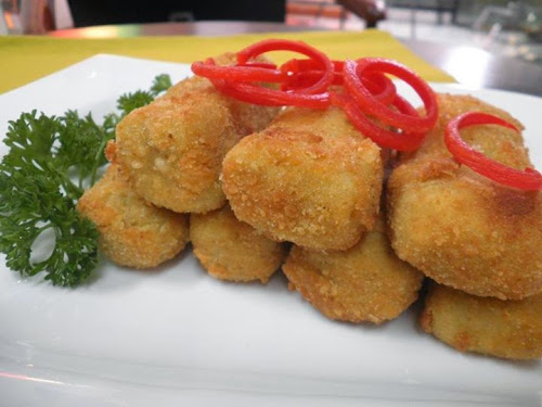 Sajian Nugget Jamur Tiram