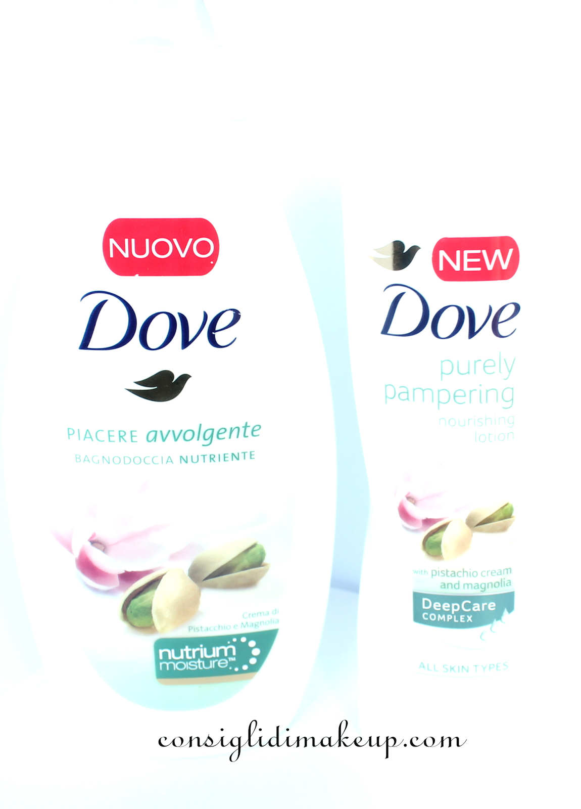 dove bagnoschiuma crema corpo