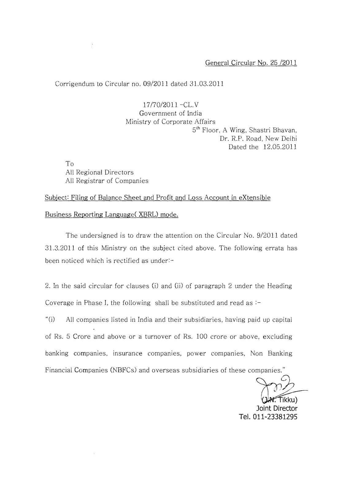 Notification No. 13/2011-Central Excise (N.T.), dated 31-03-2011