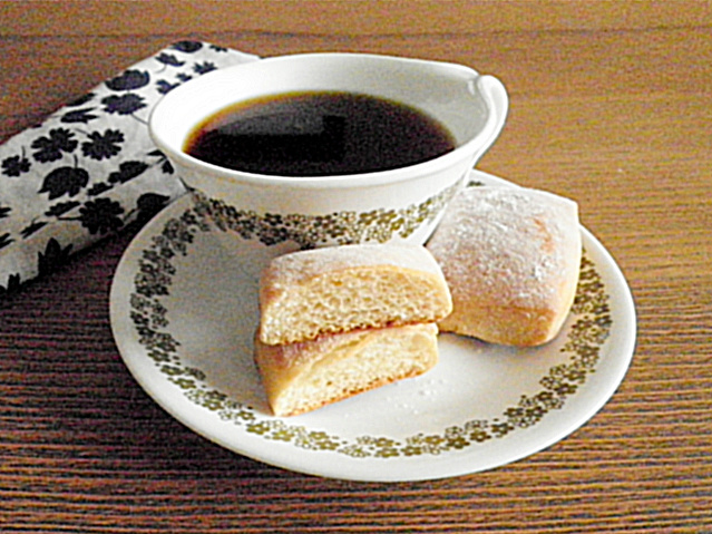 Baked Beignets Recipe @ http://treatntrick.blogspot.com