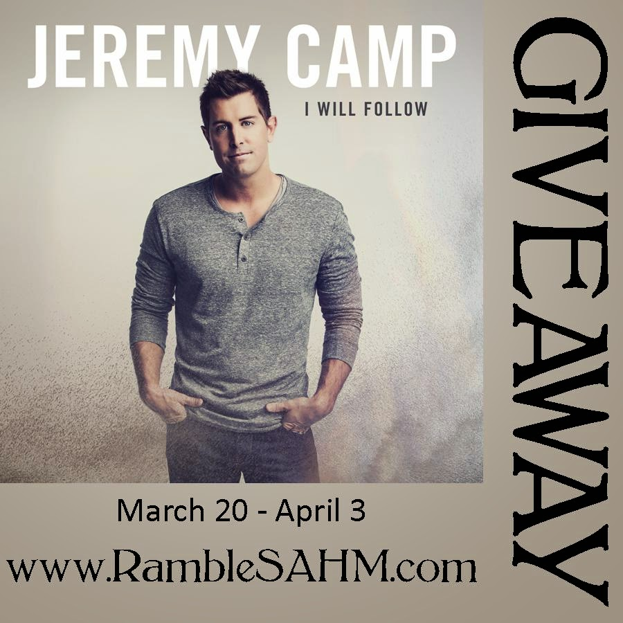 I Will Follow by Jeremy Camp (CD Review & Giveaway)