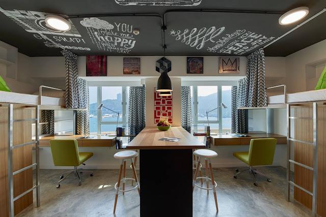 Campus HK Hong Kong student accommodation rooms