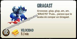 imagen de la decripcion del monstruo giragast