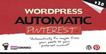 Pinterest Automatic Pin v3.0 Wordpress Plugin