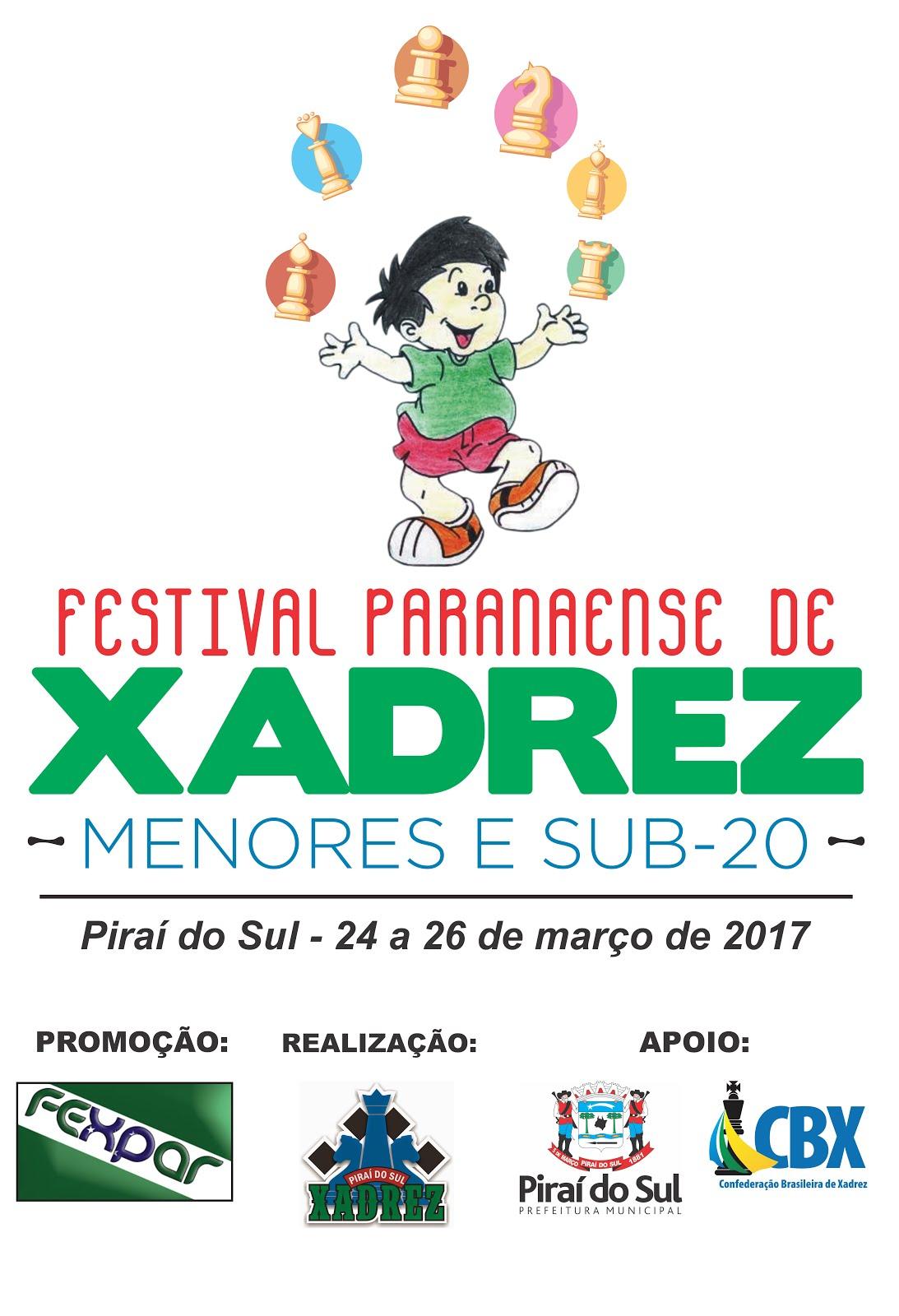 FESTIVAL PARANAENSE DE XADREZ