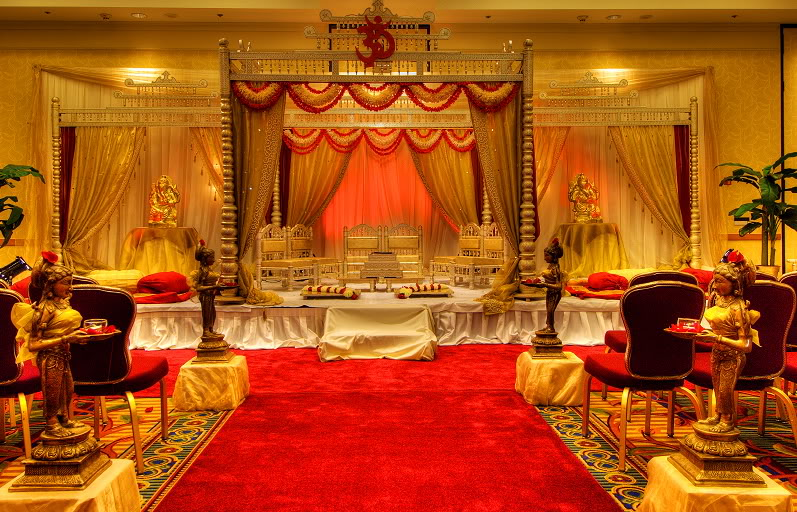 indian wedding stage decoration pictures shaadi. Black Bedroom Furniture Sets. Home Design Ideas
