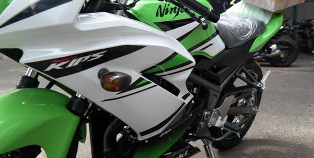 Kawasaki Ninja 150 Rr 2015   NEW KAWASAKI
