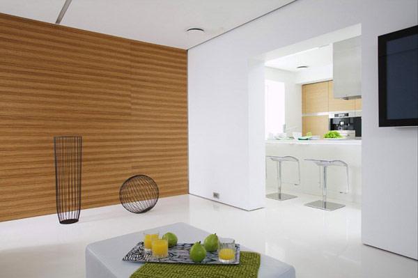 Decoración fácil: apartamento minimalista en moscu
