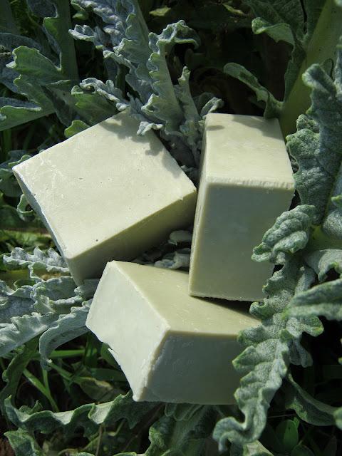 Jabón de arcilla verde