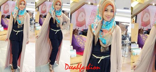 Gaya Jilbab Ribet Baju Muslim Nglengsreh