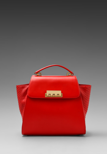 10 Best Top-Handle Bags For Summer 2013: Z Spoke by Zac Posen Ertha Top Handle