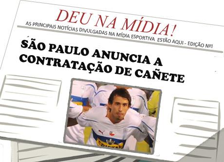 Deu na mídia - Marcelo Cañete acerta com o São Paulo