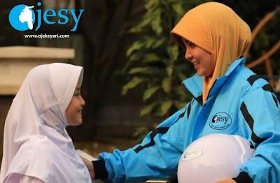 Ojek Syari (Ojesy), Ojek Khusus Wanita Lahir Dari Surabaya, ojesy, ojek wanita, ojek online wanita