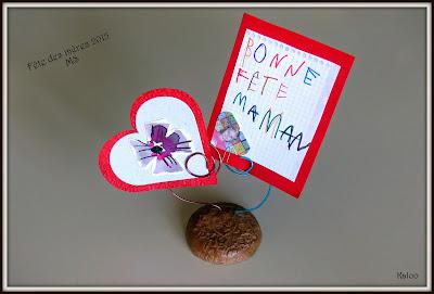 Cadeau fête des mères MS