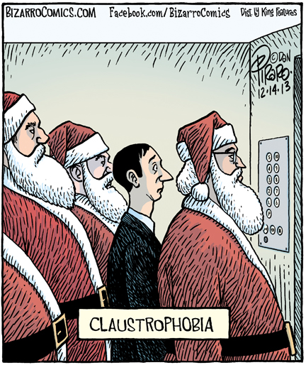 Mystery Fanfare: Cartoon of the Day: Claustrophobia
