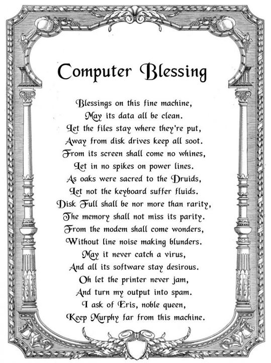 computer blessing menace Indeed, computer is a blessing however, its misuse can lead to it being a menacenowadays, computer is the biggest means of communication you can talk to your relatives and friends as if they were sitting in front of you.
