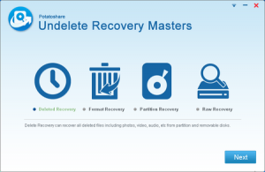 Free Download Potatoshare Undelete Recovery Masters 5.0.0.1 Full Version