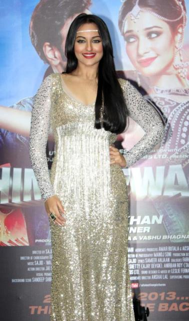 Sonkashi Sinha at her Himmatwala Item song Launch!