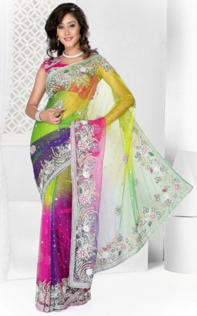 Women-Indian-Saree