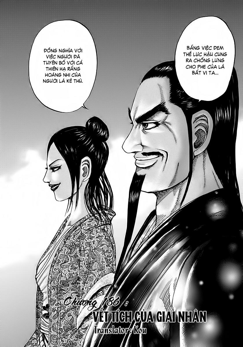 Kingdom - Vương Giả Thiên Hạ Chapter 186 page 3 - IZTruyenTranh.com