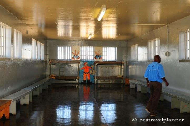 carcere di Robben island - camerata