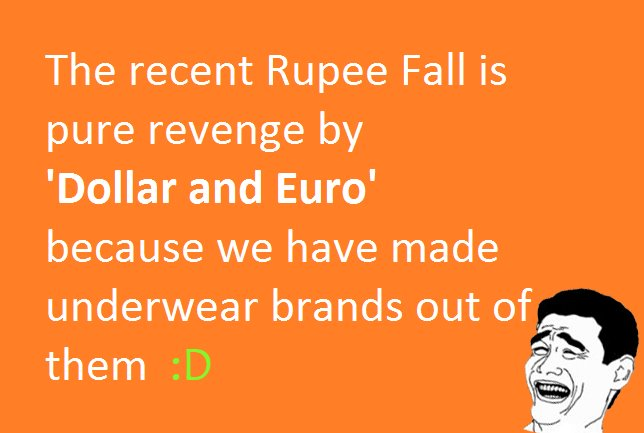 reason for falling in indian rupees essay Indian rupee iso 4217 code: this event was known as the fall of the rupee india was not affected by the imperial order-in-council and for the same reasons.