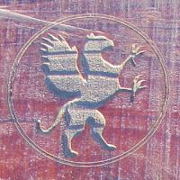 Griffith Park Griffin, Teahouse emblem, half puma/half hawk