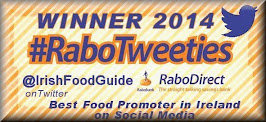 Winner Irish Twitter Awards for Promoting Irish Food Online