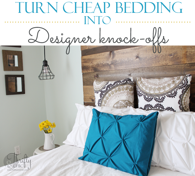Get the designer pintuck look for under $20! Duvet included!