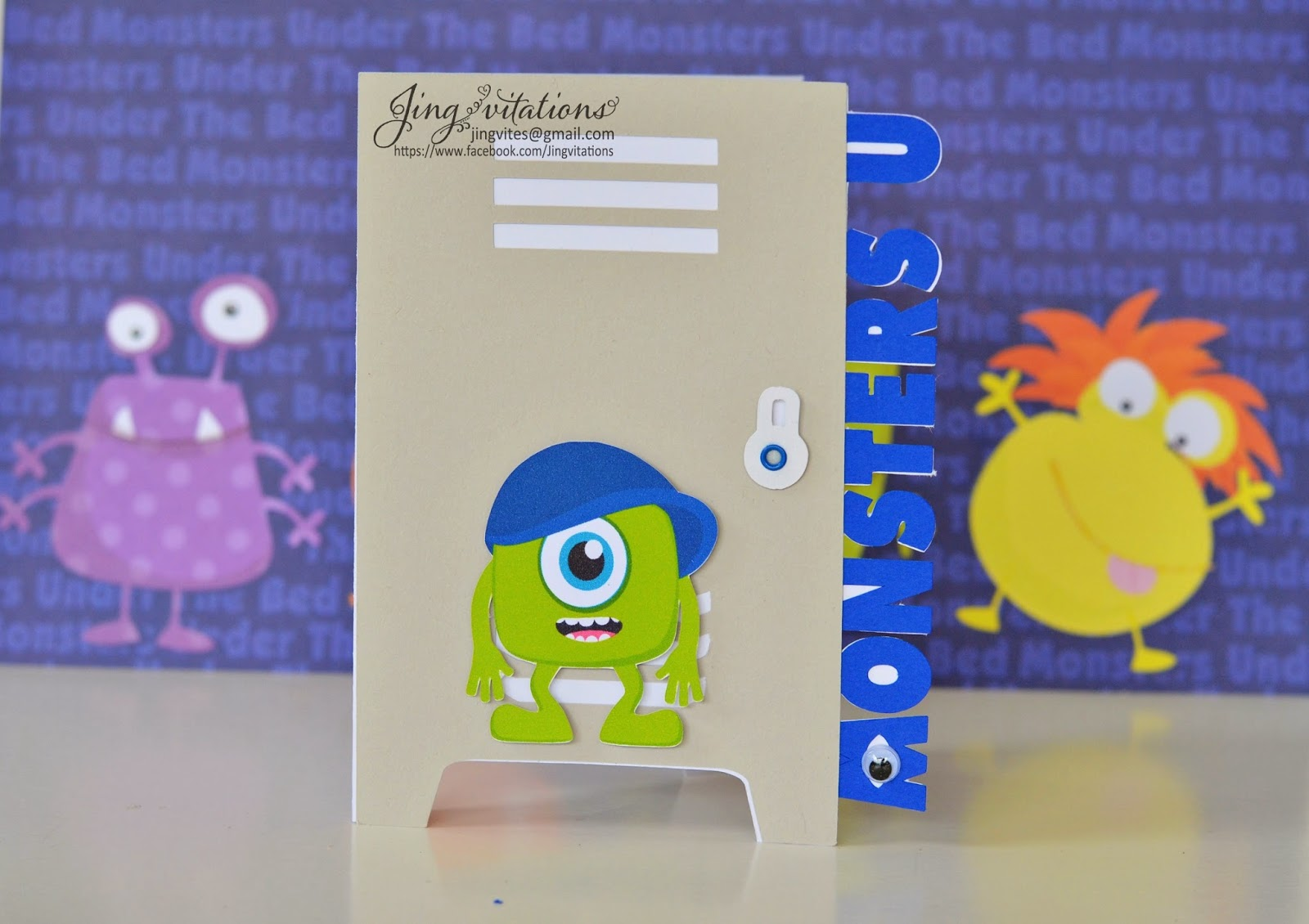 birthday and baby shower invitations monster inc invitations, Baby shower