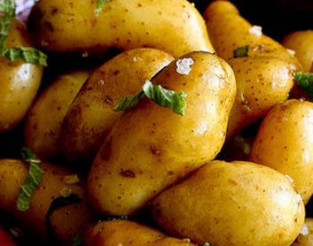 طريقة عمل البطاطا المسلوقة مع النعناع