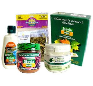 edulcorantes-de stevia rebaudiana
