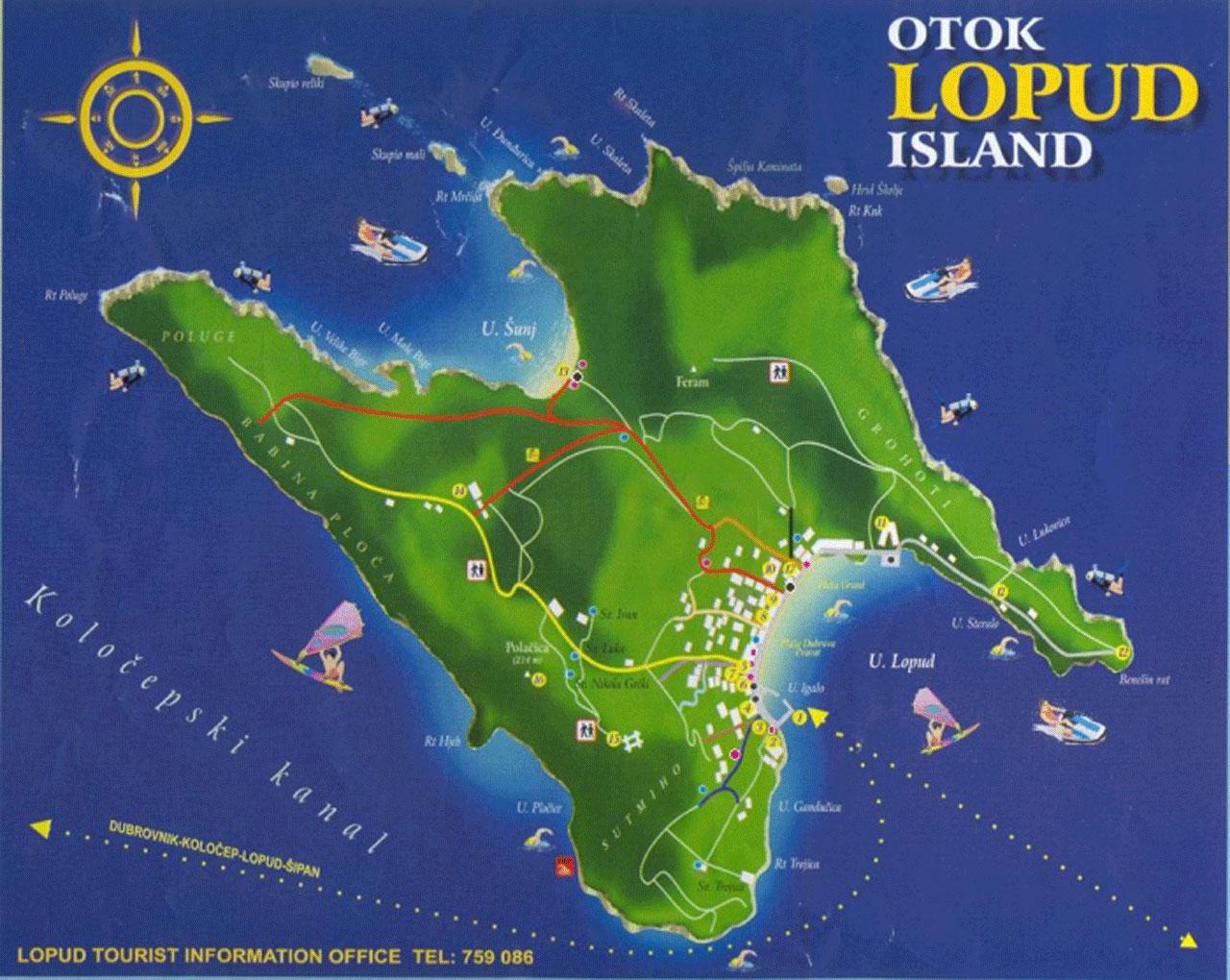 Lopud Island Croatia - Lafodia Sea Resort