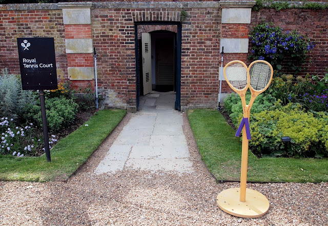 Royal Tennis Court - Hampton Court Palace, London