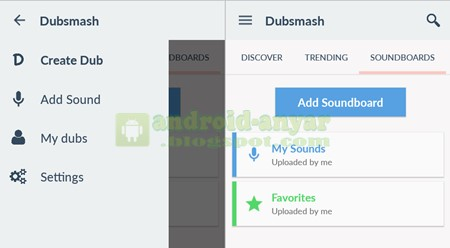 Add Soundboard Dubsmash